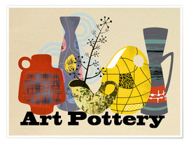 Premiumposter Art Pottery
