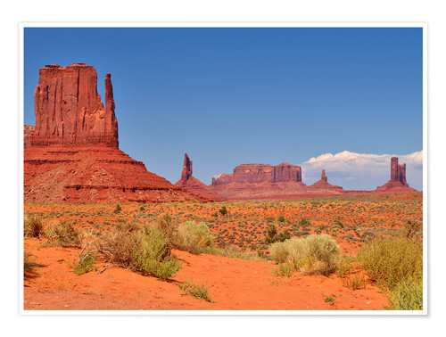 Premiumposter Monument Valley I
