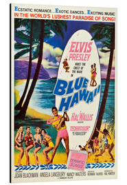 Aluminiumtavla  Blue Hawaii