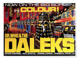 Premiumposter  DR. WHO AND THE DALEKS