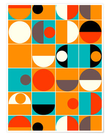 Premiumposter  Panton Pop - Mandy Reinmuth