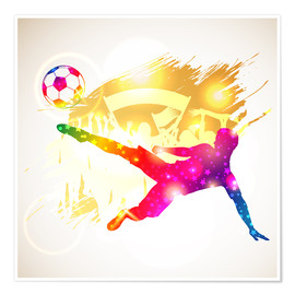 Premiumposter  Soccer Player - TAlex