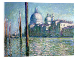 Akrylglastavla  The Grand Canal - Claude Monet