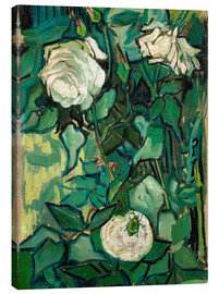 Canvastavla  Roses and Beetle - Vincent van Gogh