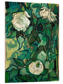 PVC-tavla  Roses and Beetle - Vincent van Gogh