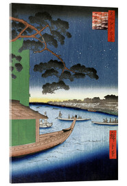 Akrylglastavla  Pine of Success - Utagawa Hiroshige