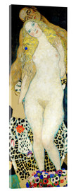 Akrylglastavla  Adam and Eve - Gustav Klimt