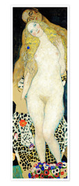 Premiumposter  Adam and Eve - Gustav Klimt