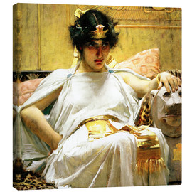 Canvastavla  Cleopatra - John William Waterhouse