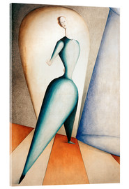Akrylglastavla  The Dancer - Oskar Schlemmer