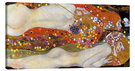 Canvastavla  Water serpents II - Gustav Klimt