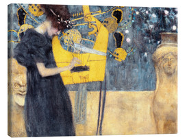 Canvastavla  The Music - Gustav Klimt