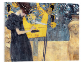 PVC-tavla  The Music - Gustav Klimt