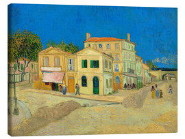 Canvastavla  The Yellow House - Vincent van Gogh
