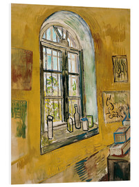 PVC-tavla  Window in the Studio - Vincent van Gogh
