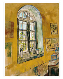 Premiumposter  Window in the Studio - Vincent van Gogh