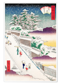 Premiumposter Kasumigaseki in Snow