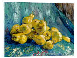 Akrylglastavla  Still life with quinces - Vincent van Gogh