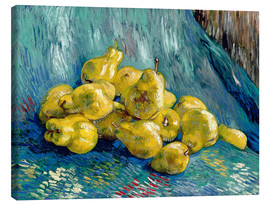 Canvastavla  Still life with quinces - Vincent van Gogh