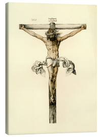 Canvastavla  Christ on Cross - Albrecht Dürer