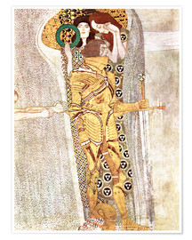 Premiumposter  The Knight - Gustav Klimt