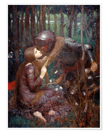 Premiumposter  La Belle Dame sans Merci - John William Waterhouse