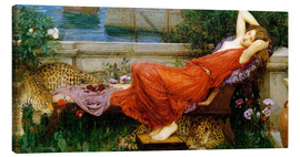 Canvastavla  Ariadne - John William Waterhouse