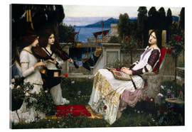 Akrylglastavla  Saint Cecilia - John William Waterhouse