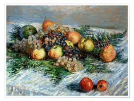 Premiumposter Still-life with fruit