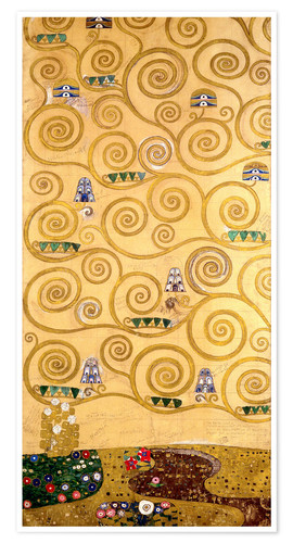 Premiumposter The Tree of Life (left outer panel)