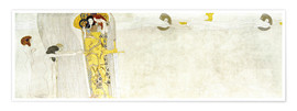 Premiumposter  Beethove frieze - Gustav Klimt