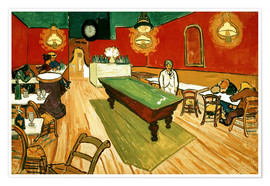 Premiumposter  Night Cafe in Arles - Vincent van Gogh