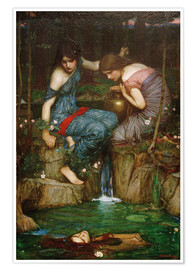 Premiumposter Nymphs Finding the Head of Orpheus
