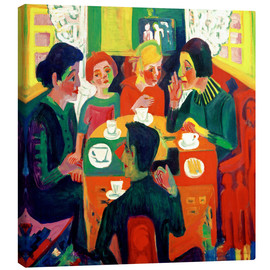 Canvastavla  Coffee table - Ernst Ludwig Kirchner
