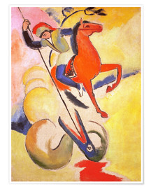 Premiumposter  St. George - August Macke