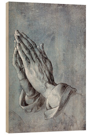 Trätavla  Praying Hands - Albrecht Dürer