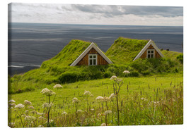 Canvastavla  Traditional Houses in the Skaftafell National Park, Iceland - Markus Ulrich