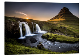 Akrylglastavla  Fair Tyle Countryside in Iceland - Andreas Wonisch