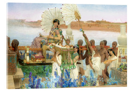 Akrylglastavla  The Finding of Moses by Pharaoh's Daughter - Lawrence Alma-Tadema