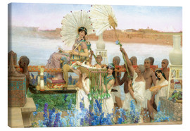 Canvastavla  The Finding of Moses by Pharaoh's Daughter - Lawrence Alma-Tadema