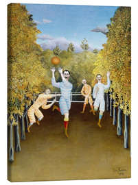 Canvastavla  The Football players - Henri Rousseau