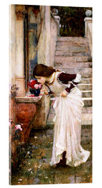 Akrylglastavla  The Shrine - John William Waterhouse