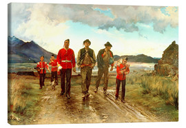 Canvastavla  'Listed for the Connaught Rangers': Recruiting in Ireland, 1878 - Lady Butler