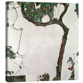 Canvastavla  Autumn tree - Egon Schiele