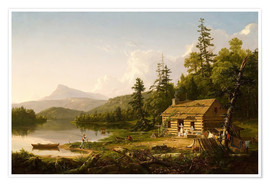 Premiumposter  Home in the Woods - Thomas Cole