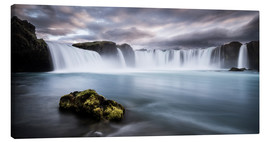 Canvastavla  Godafoss Waterfall in Iceland - Andreas Wonisch