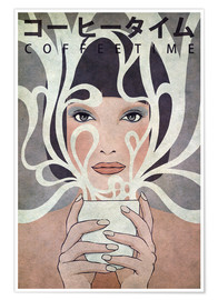 Premiumposter  Coffee Time - Kuba Gornowicz