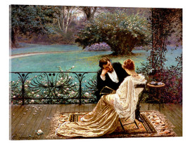Akrylglastavla  The Pride of Dijon - William John Hennessy