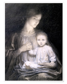Premiumposter Mother and Child, c.1920