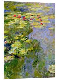Akrylglastavla  The lily pond - Claude Monet
